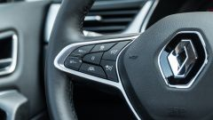 Renault Captur 2019, i comandi del cruise control