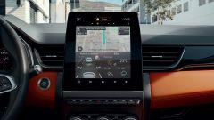 Renault Captur 2019, il display centrale