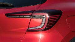 Renault Captur 2019, il fanale posteriore