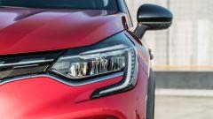 Renault Captur 2019, il gruppo ottico anteriore