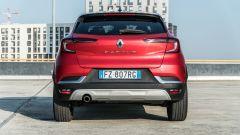 Renault Captur 2019, il posteriore