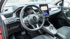 Renault Captur 2019, il posto di guida