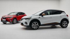 Renault Captur 2019 rossa e bianca