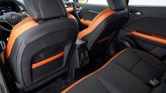 Renault Captur 2019 spazio divano posteriore