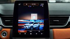 Renault Captur 2019 tablet verticale da 9,3''
