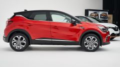 Renault Captur 2019 vista laterale