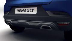 Renault Captur, arriva ibrido e R.S. Line: il diffusore posteriore