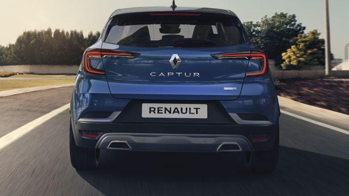 Renault Captur E-Tech Hybrid: dopo l'ibrida plug-in ora anche la mild hybrid