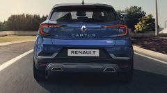 Renault Captur E-Tech Hybrid: il posteriore