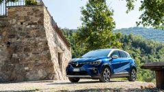Renault Captur E-Tech Plug-in Hybrid: motore benzina abbinato a due motori elettrici. Potenza complessiva 160 CV