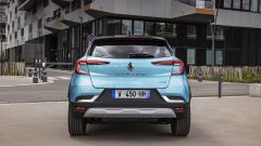 Renault Captur E-Tech Plug-in, il posteriore