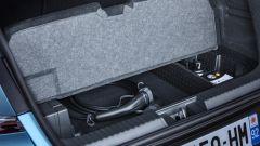 Renault Captur E-Tech Plug-in, il sistema ibrido non sottrae spazio ai bagagli