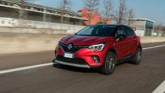 Renault Captur, la prova. Vista 3/4 anteriore