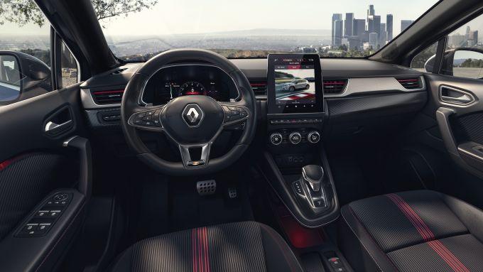 Renault Captur R.S. Line: gli interni