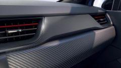 Renault Captur R.S. Line: la finitura della plancia carbon look