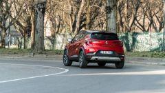 Renault Captur, vista 3/4 posteriore