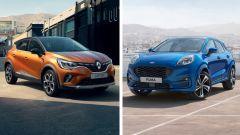 Renault Captur vs Ford Puma