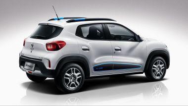 Renault City K-ZE, da cui dovrebbe nascere la Dacia elettrica