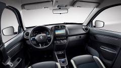 Renault City K-ZE, da cui nascerà la Dacia elettrica: la plancia