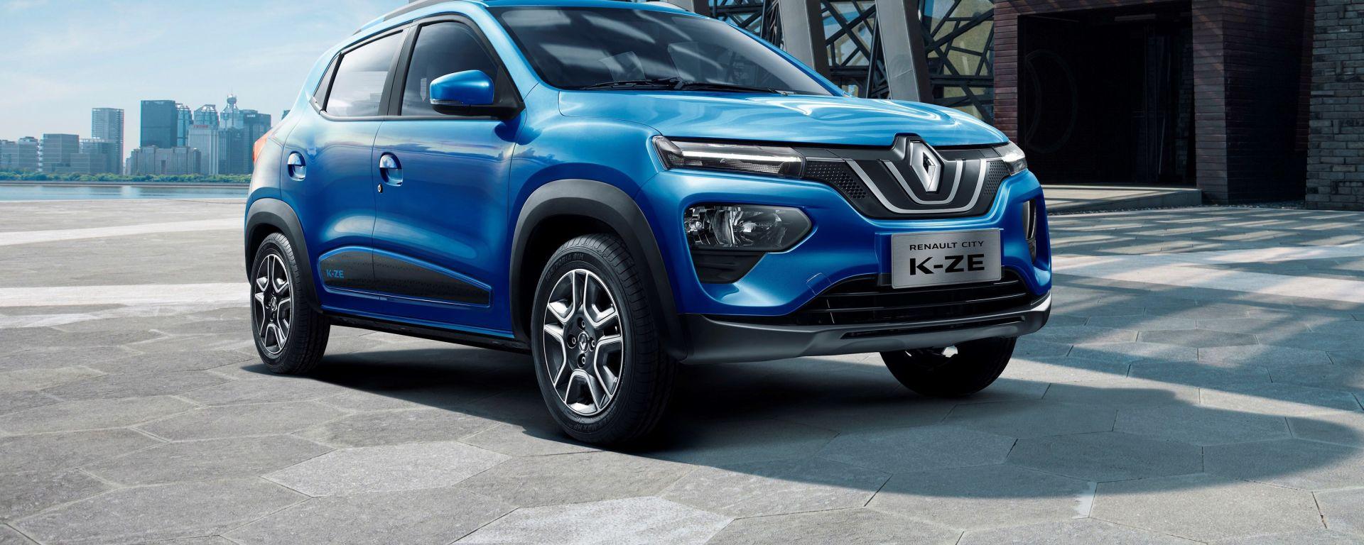 Renault City K-ZE, il mini-Suv elettrico low cost della Losanga