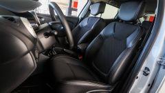 Renault Clio 0.9 TCe GPL - visuale sedili anteriori