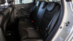 Renault Clio 0.9 TCe GPL - visuale sedili posteriori