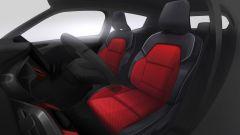 Renault Clio 2019: bozzetto dei sedili