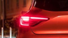 Renault Clio 2019, il gruppo ottico posteriore