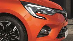 Renault Clio 2019 Valencia Orange: dettaglio del frontale