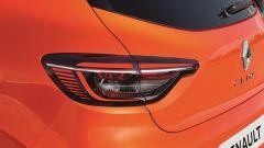 Renault Clio 2019 Valencia Orange: il gruppo ottico posteriore