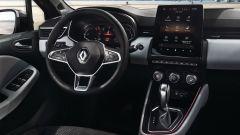 Renault Clio 5 2019: dettaglio dell'infotainment con schermo da 9,3 pollici