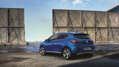 Renault Clio 5 2019: vista 3/4 posteriore