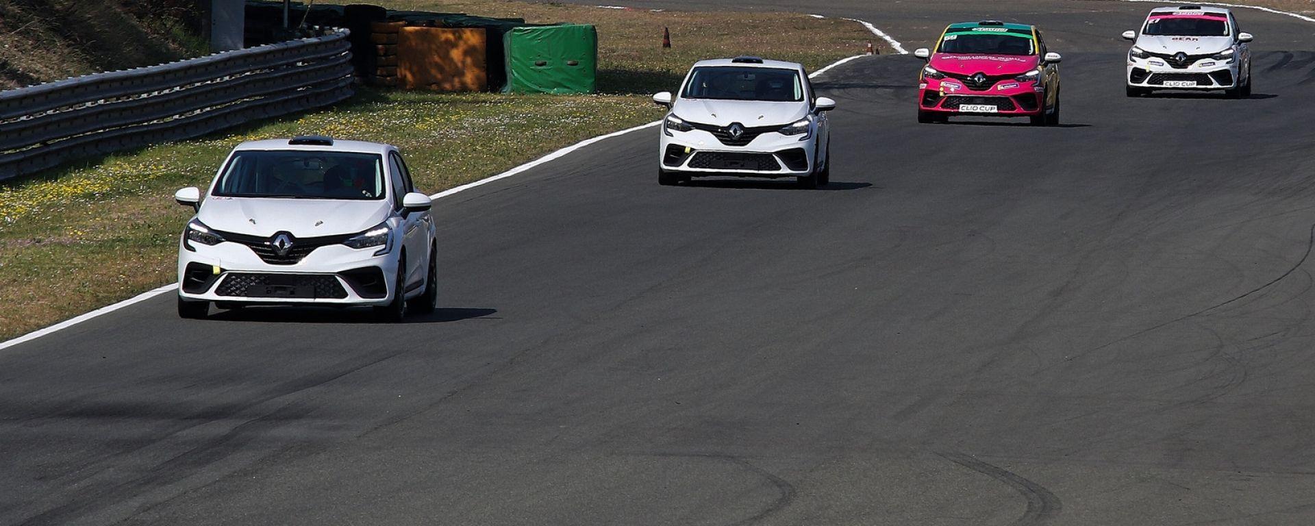 Renault Clio Cup Italia 2021: i test di Varano De Melegari