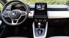 Renault Clio E-Tech ibrida, la plancia