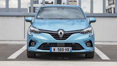 Renault Clio E-Tech, il frontale
