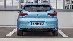 Renault Clio E-Tech, il posteriore