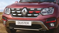Renault Duster 1.3 turbo benzina, il frontale