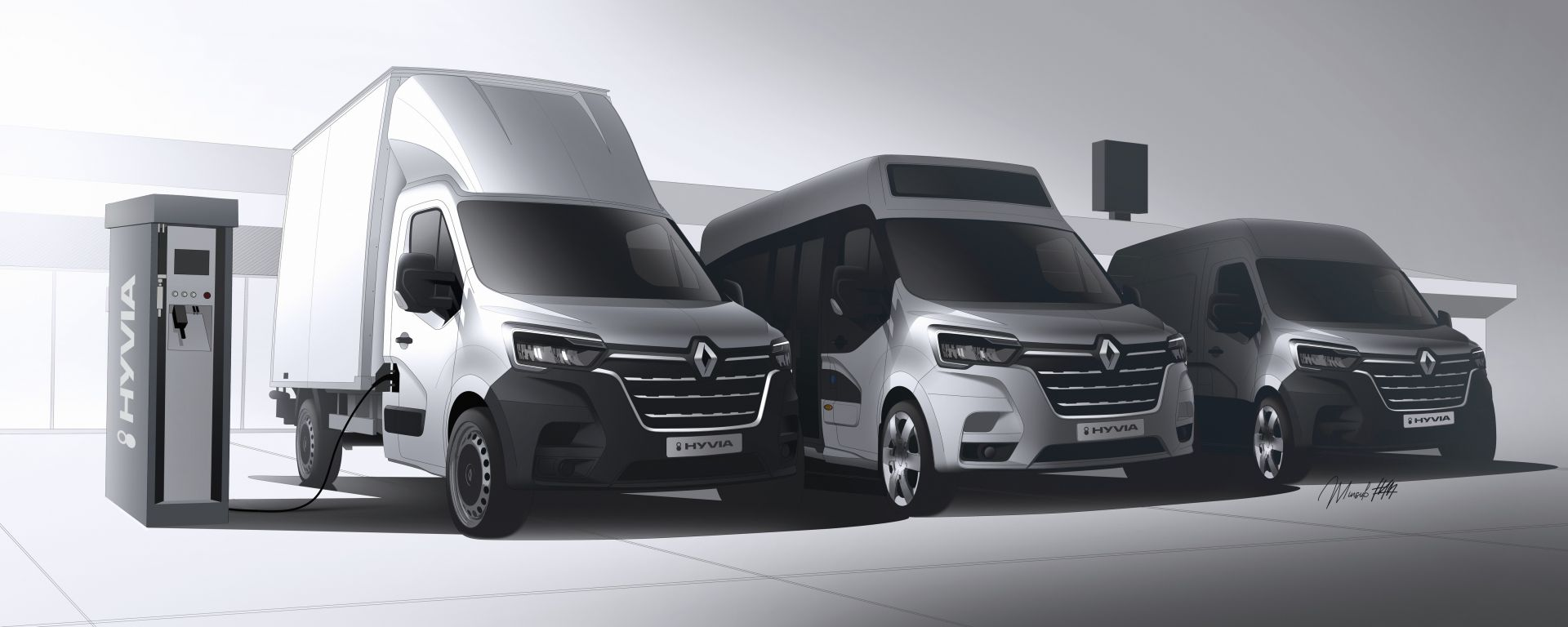 Renault e Plug Power danno vita a Hyvia