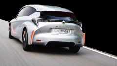 Renault Eolab: la prima ibrida plug-in francese, vista da dietro