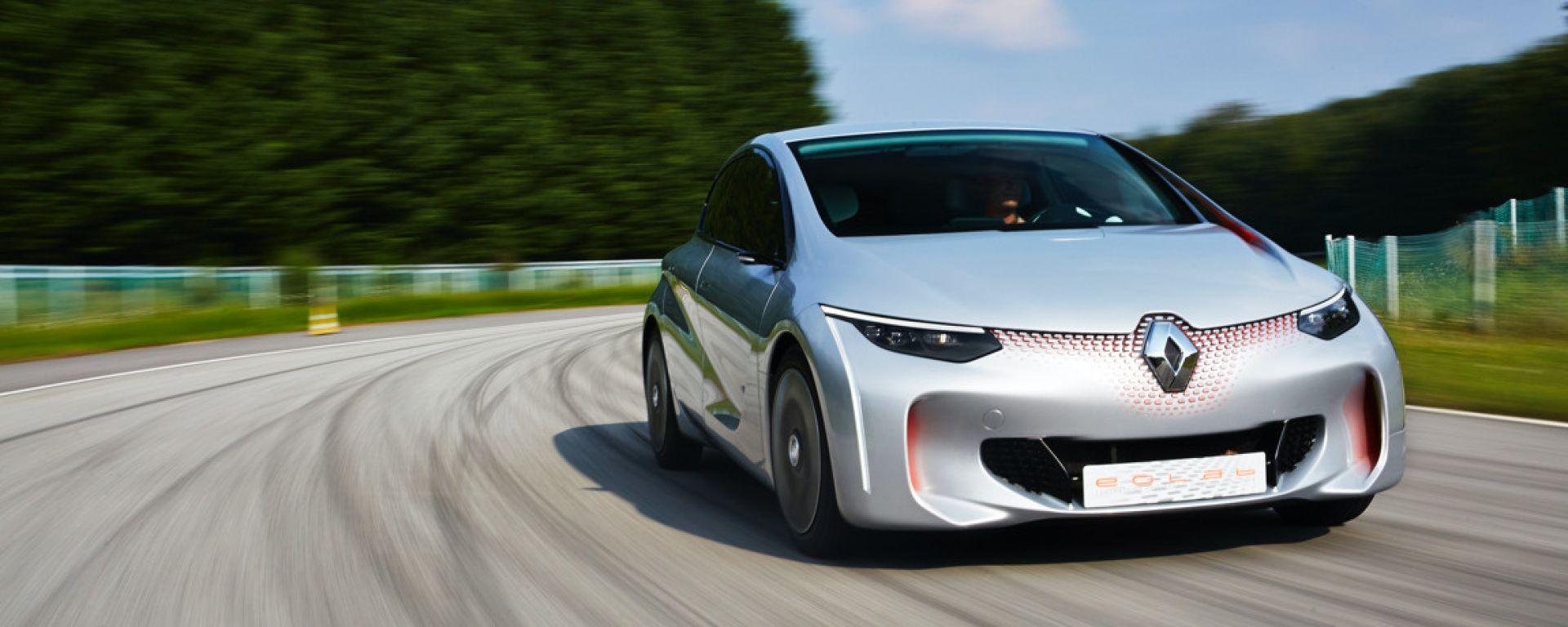 Renault Eolab: la prima ibrida plug-in francese