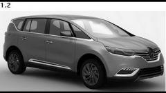 Renault Espace 2015, le prime tracce - Immagine: 3