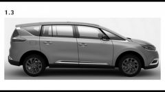 Renault Espace 2015, le prime tracce - Immagine: 4