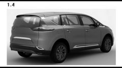 Renault Espace 2015, le prime tracce - Immagine: 5