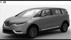 Renault Espace 2015, le prime tracce - Immagine: 1