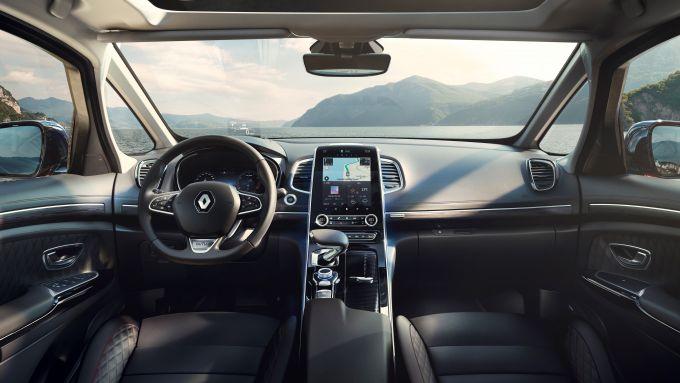 Renault Espace 2019 Initiale Paris: l'abitacolo