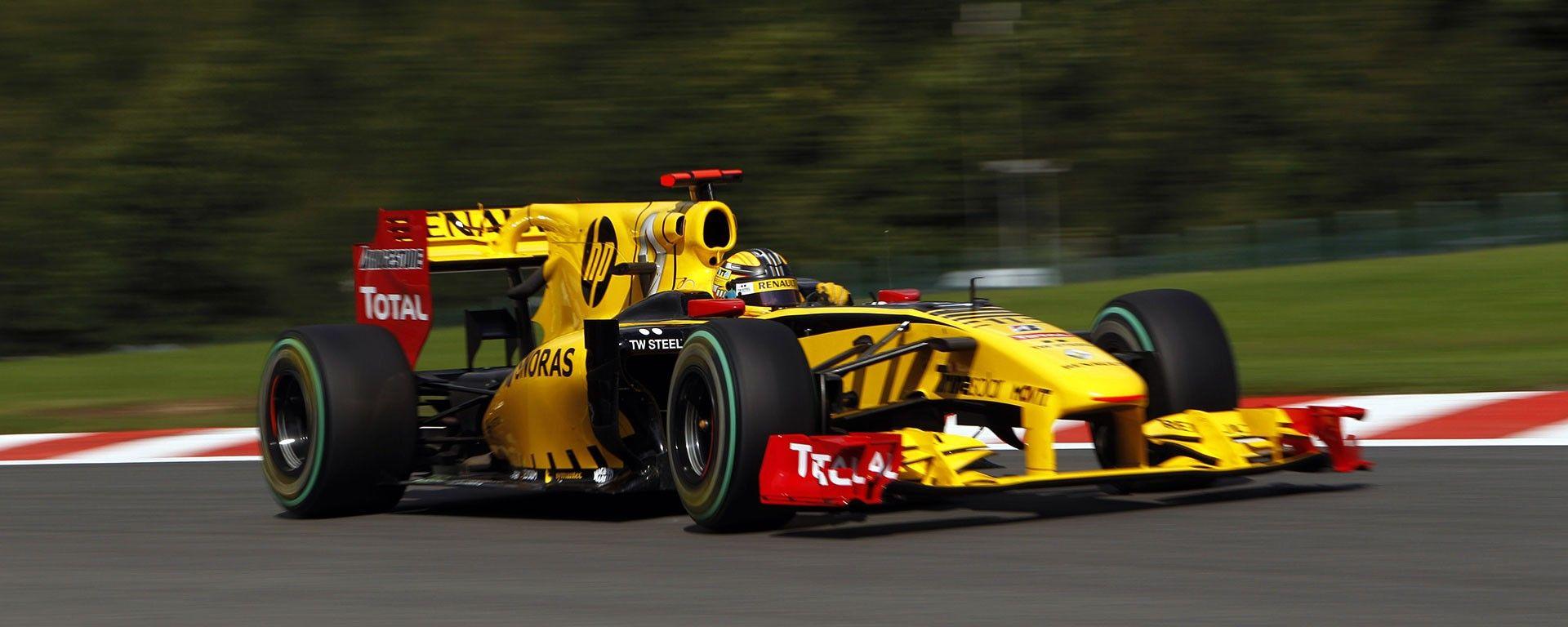 Renault F1 2010 - Kubica