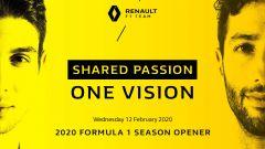 Renault F1 Team: c'è la data della presentazione