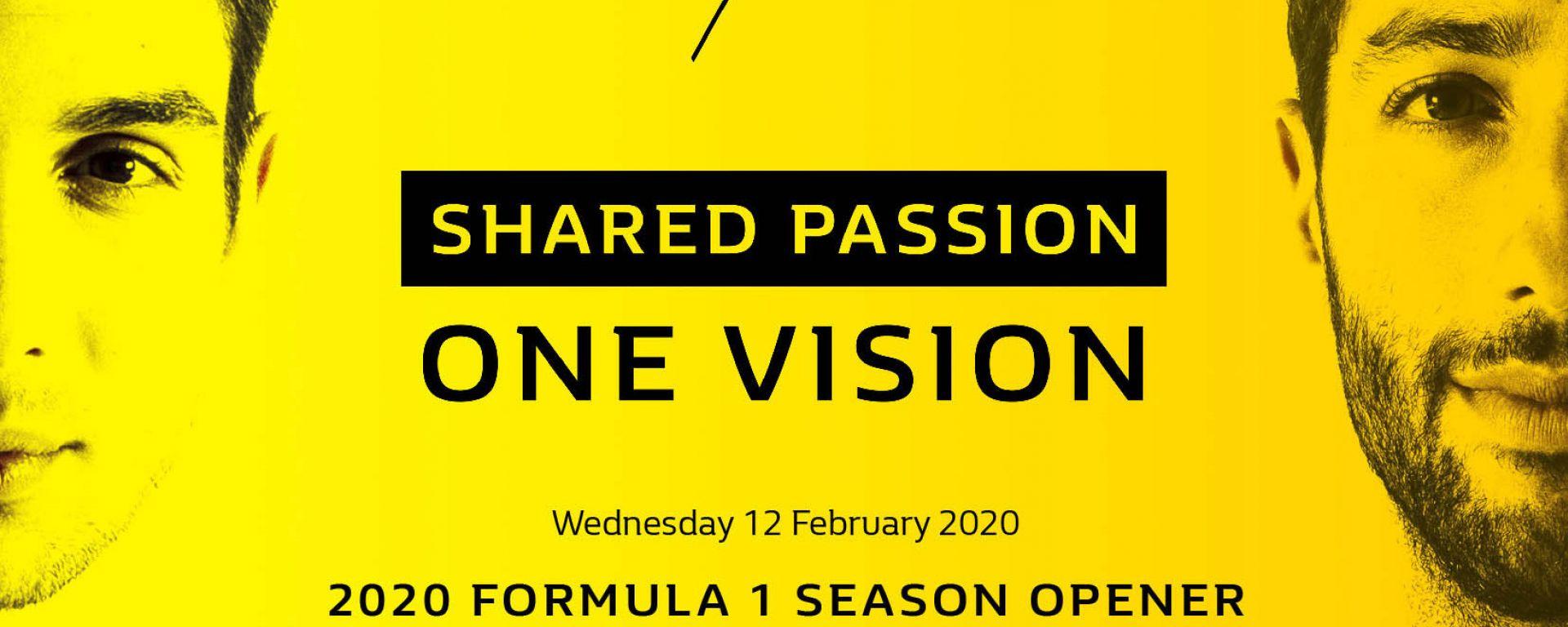 Renault F1 Team 2020 Formula 1 Season Opener