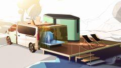 Hippie Caviar Hotel: il camper full-electric di Renault