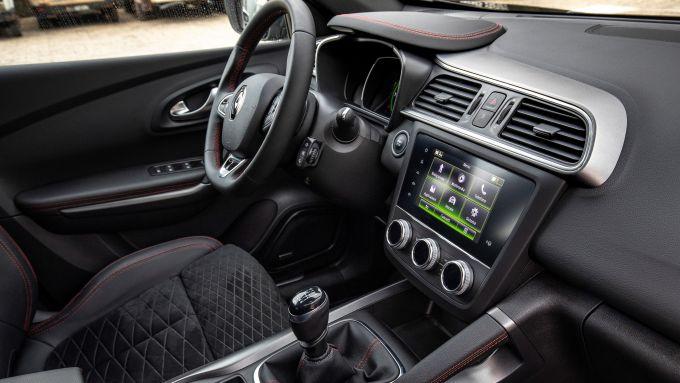 Renault Kadjar: la plancia